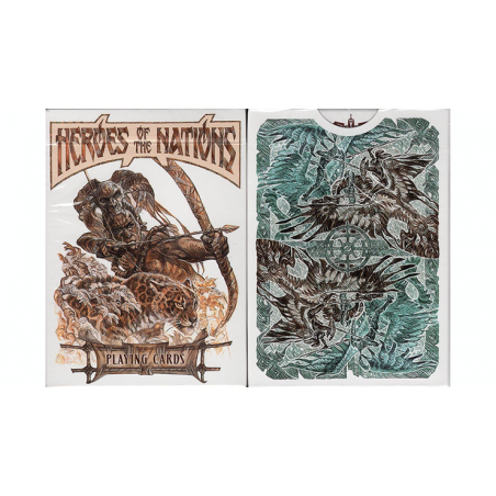 Heroes of the Nations (Light Version) Playing Cards wwww.jeux2cartes.fr