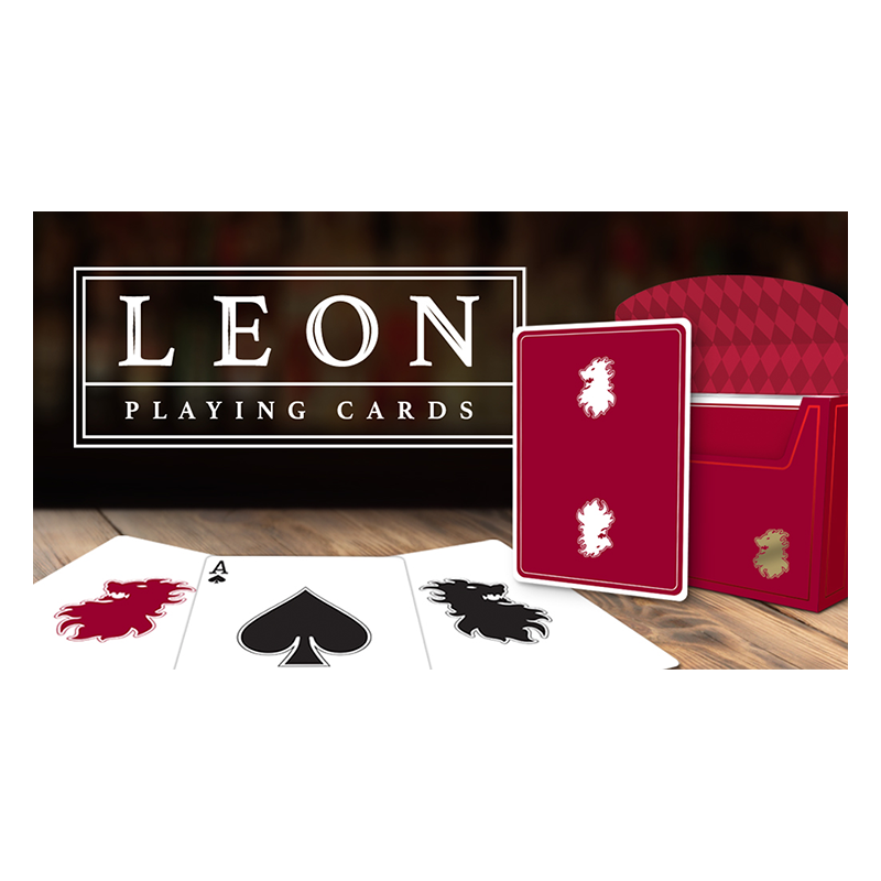 Leon Playing Cards wwww.jeux2cartes.fr