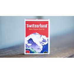 World Tour: Switzerland Playing Cards wwww.jeux2cartes.fr