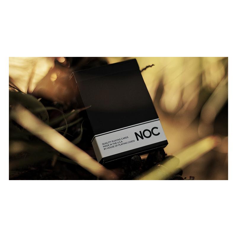 NOC Original Deck (Black) Printed at USPCC by The Blue Crown wwww.jeux2cartes.fr