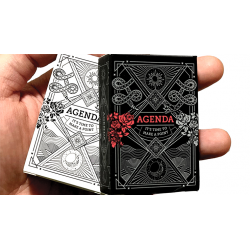 Mini Agenda Playing Cards (White) wwww.jeux2cartes.fr