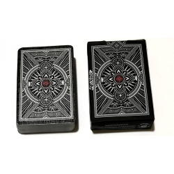 Mini Agenda Playing Cards (Black) wwww.jeux2cartes.fr