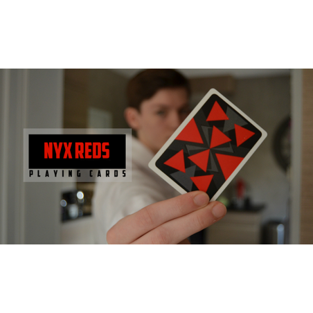 Nyx Reds Playing Cards wwww.jeux2cartes.fr