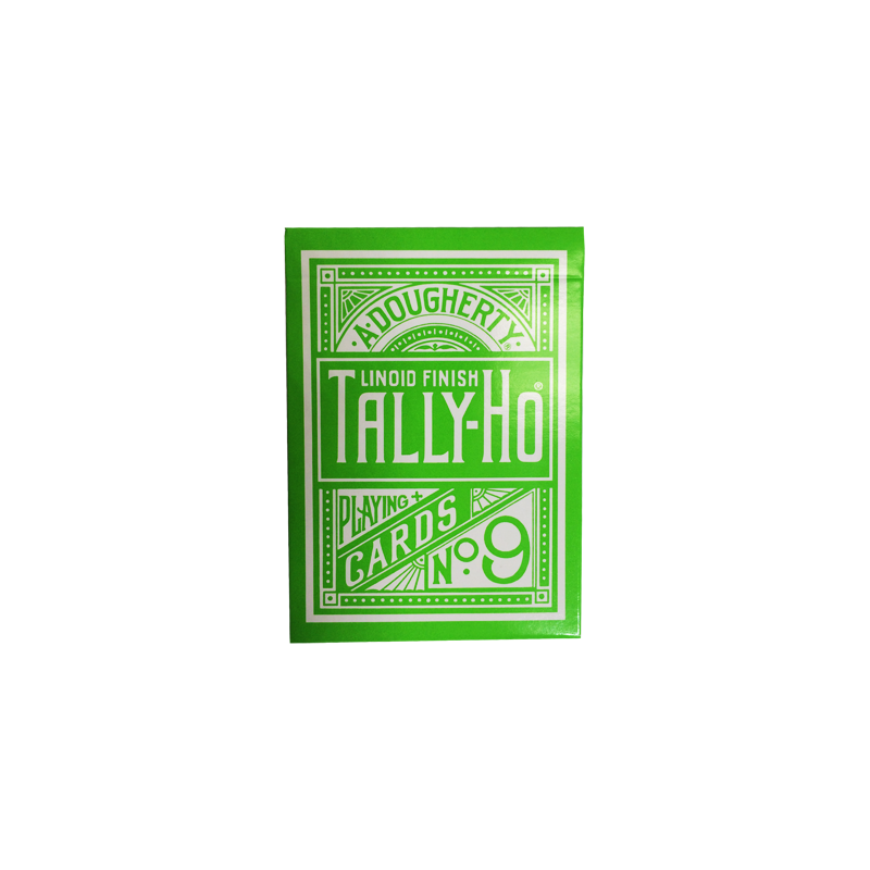 Tally Ho Reverse Circle back (Green) Limited Ed. by Aloy Studios / USPCC wwww.jeux2cartes.fr