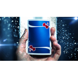 Cherry Casino Playing Cards (Tahoe Blue) by Pure Imagination Projects wwww.jeux2cartes.fr