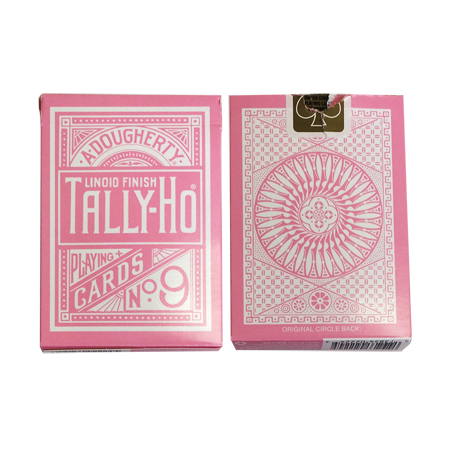 Tally Ho Reverse Circle back (Pink) Limited Ed. by Aloy Studios / USPCC wwww.jeux2cartes.fr