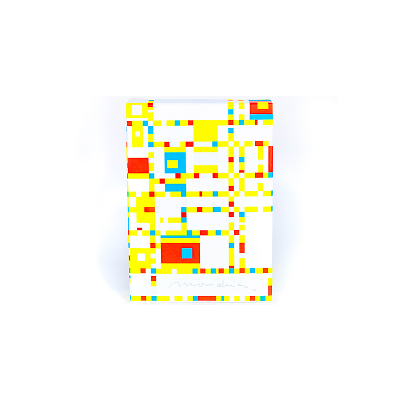 Mondrian: Broadway Playing Cards wwww.jeux2cartes.fr