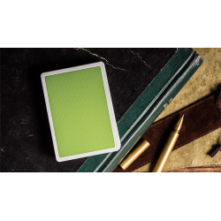 Steel Green Playing Cards (V2 Edition) by Bocopo wwww.jeux2cartes.fr