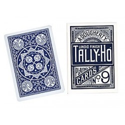 Cards Tally Ho Fan Back Poker size (Blue) wwww.jeux2cartes.fr
