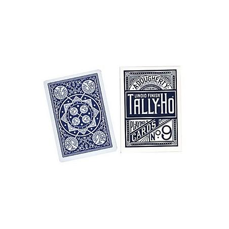 Cards Tally Ho Fan Back Poker size (Blue) wwww.jeux2cartes.fr
