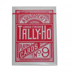 Cards Tally Ho Fan Back Poker size (Red) wwww.jeux2cartes.fr
