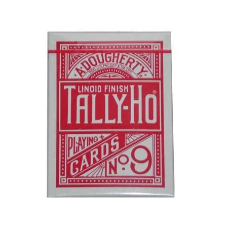 Cards Tally Ho Fan Back Poker size (Red) wwww.jeux2cartes.fr