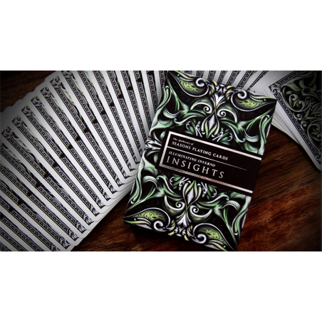 Luxury Apothecary (Insights) Playing Cards by Alex Chin wwww.jeux2cartes.fr
