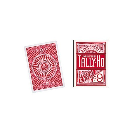Cards Tally Ho Circle Back (Red) wwww.jeux2cartes.fr