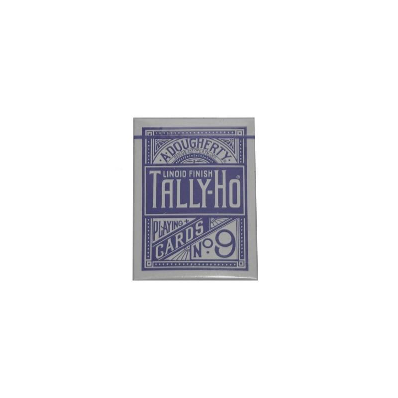 Cards Tally Ho Circle Back (Blue) wwww.jeux2cartes.fr