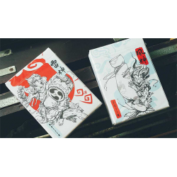 Raijin Playing Cards by BOMBMAGIC wwww.jeux2cartes.fr