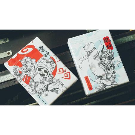 Raijin Playing Cards by BOMBMAGIC wwww.jeux2cartes.fr