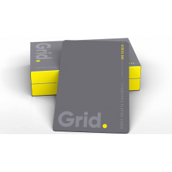Grid Typographic Playing Cards wwww.jeux2cartes.fr