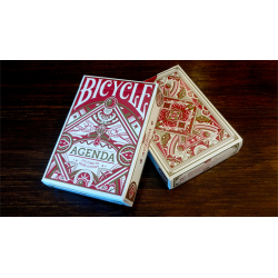 Agenda Red Basic Edition Playing Cards wwww.jeux2cartes.fr