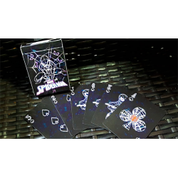 Avengers Spider-Man Neon Playing Cards wwww.jeux2cartes.fr