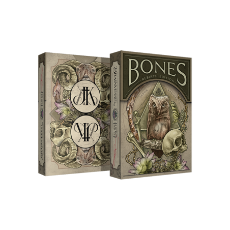 Bones (Rebirth) Playing Cards by Brain Vessel wwww.jeux2cartes.fr