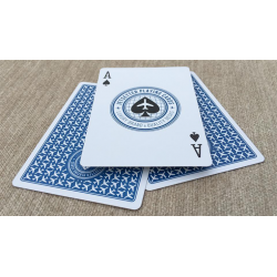 Premier Edition in Altitude Blue by Jetsetter Playing Cards wwww.jeux2cartes.fr