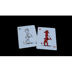 "Whispering Imps ""Workers Edition"" Playing Cards wwww.jeux2cartes.fr"