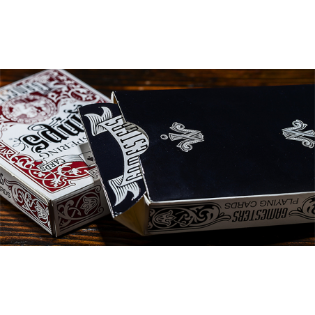 Gamesters Standard Edition Playing Cards (Black) by Whispering Imps wwww.jeux2cartes.fr