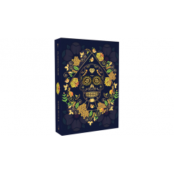 Calaveras de Azúcar Blue Edition Playing Cards Printed by USPCC wwww.jeux2cartes.fr