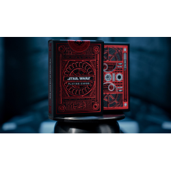 Star Wars Dark Side (RED) Playing Cards by theory11 wwww.jeux2cartes.fr