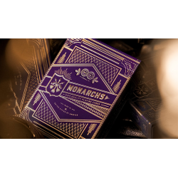 Monarch Royal Edition (Purple) Playing Cards by theory11 wwww.jeux2cartes.fr