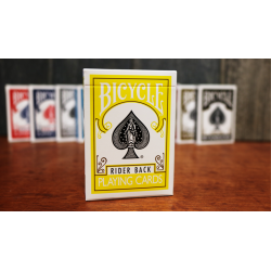 Bicycle Yellow Playing Cards by US Playing Cards wwww.jeux2cartes.fr