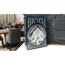 Bicycle Dragon Playing Cards (Blue) by USPCC wwww.jeux2cartes.fr
