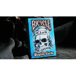 Bicycle Club Tattoo (Blue) Playing Cards wwww.jeux2cartes.fr