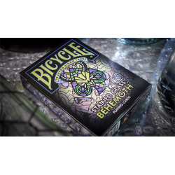 Bicycle Stained Glass Behemoth Playing Cards wwww.jeux2cartes.fr