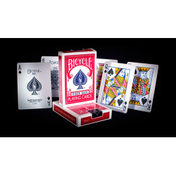Bicycle Rider Back Playing Cards in Mixed Case Red/Blue(12pk) by USPCC wwww.jeux2cartes.fr