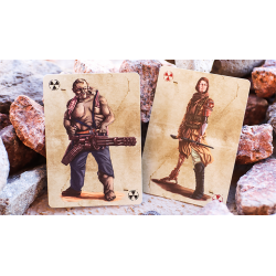 Bicycle Armageddon Post-Apocalypse Playing Cards wwww.jeux2cartes.fr