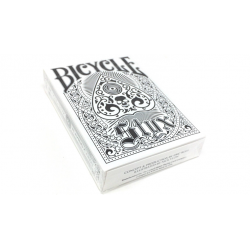 Bicycle Styx Playing Cards (White) by US Playing Card Company wwww.jeux2cartes.fr