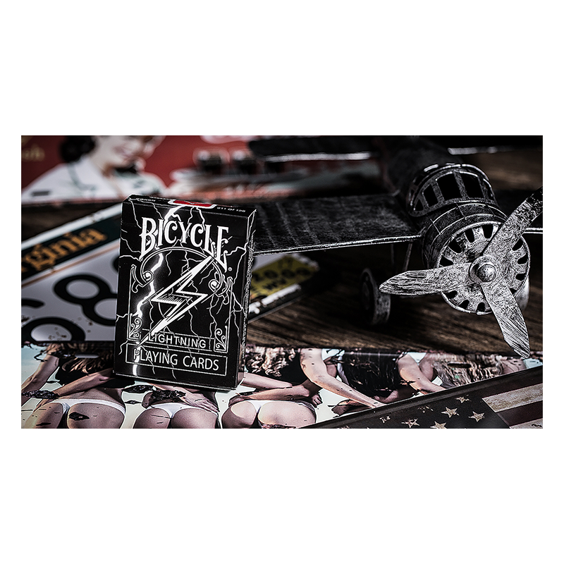 Bicycle Lightning Playing Cards wwww.jeux2cartes.fr
