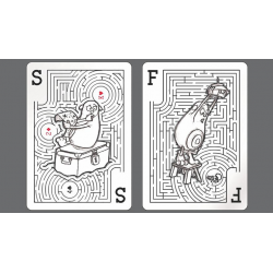 Bicycle Mazing Playing Cards wwww.jeux2cartes.fr