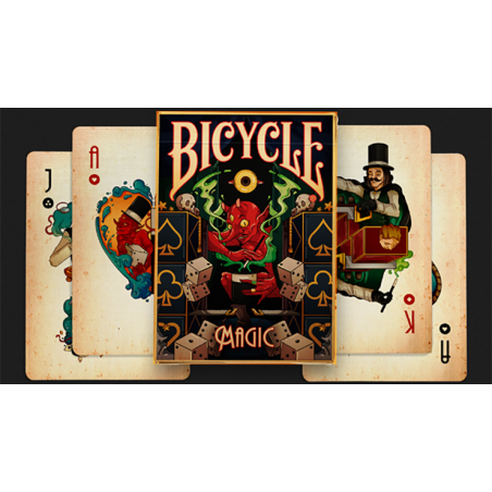 Bicycle Magic Playing Cards by Prestige Playing Cards wwww.jeux2cartes.fr