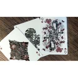 Bicycle Sumi Playing Cards wwww.jeux2cartes.fr