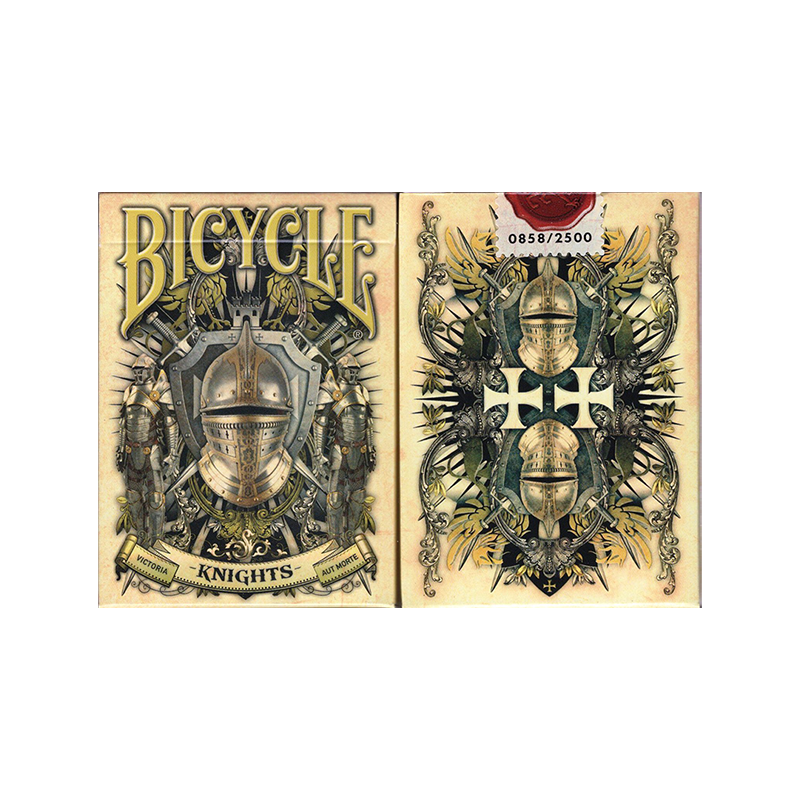 Bicycle Knights Playing Cards wwww.jeux2cartes.fr