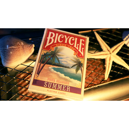 Bicycle Four Seasons Limited Edition (Summer) Playing Cards wwww.jeux2cartes.fr