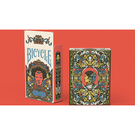 Bicycle Artist Playing Cards Second Edition by Prestige Playing Cards wwww.jeux2cartes.fr