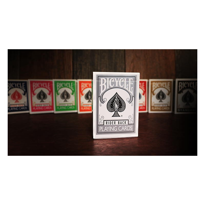 Bicycle Silver Playing Cards by US Playing Cards wwww.jeux2cartes.fr