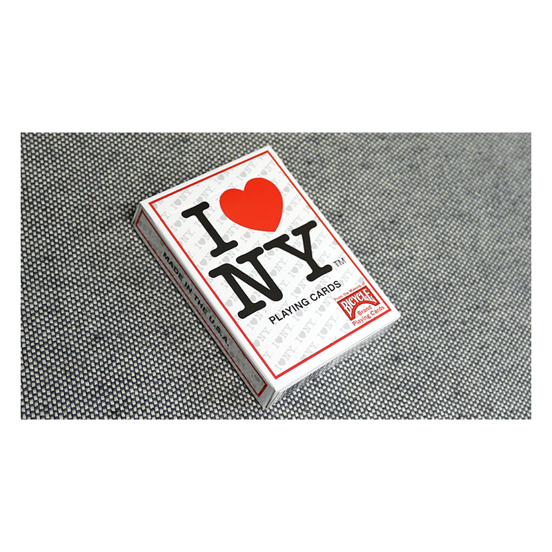 Bicycle I Love NY Playing Cards wwww.jeux2cartes.fr