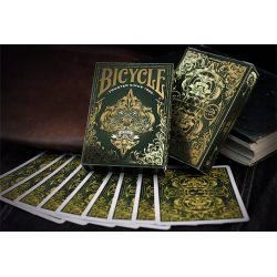 Bicycle Spirit II (Green) Playing Cards wwww.jeux2cartes.fr