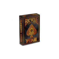 Bicycle Fire Playing Cards wwww.jeux2cartes.fr