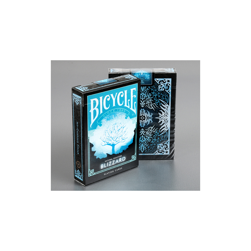 "Bicycle Natural Disasters ""Blizzard"" Playing Cards by Collectable Playing Cards wwww.jeux2cartes.fr"